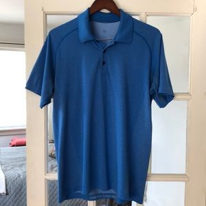 Men's Lululemon Metal Tech Polo Shirt. L